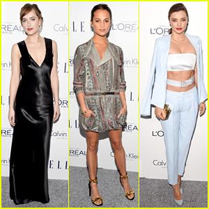 Dakota Johnson & Alicia Vikander Are Stylish Honorees At Elle's Women In Hollywood Awards 2015!