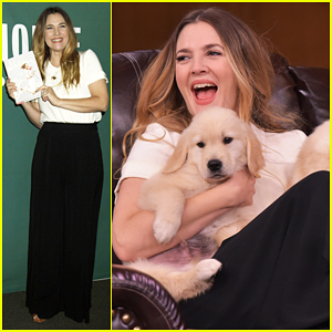 Drew Barrymore Plays Puppy Winning Trivia Game with Jimmy Fallon - Watch Here!