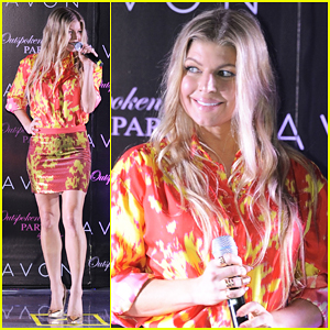 Fergie Hits Mexico For 'Outspoken Party' Fragrance Launch Party!