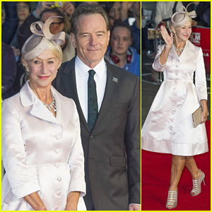 Helen Mirren Gets Dolled Up For 'Trumbo' Premiere with Bryan Cranston!