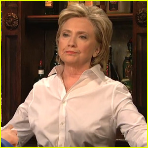 Watch Hillary Clinton Impersonate Donald Trump on 'SNL'!