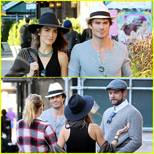 Ian Somerhalder & Nikki Reed Run Into Another Famous Couple!