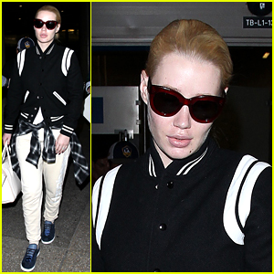 Iggy Azalea Touches Down in LA After Spain Appearance