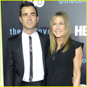 Jennifer Aniston & Justin Theroux Make Their Red Carpet Debut as Newl