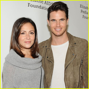 Robbie Amell & Italia Ricci Couple Up for Charity Festival