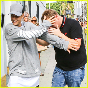 Justin Bieber Becomes James Corden's Bodyguard For A Day
