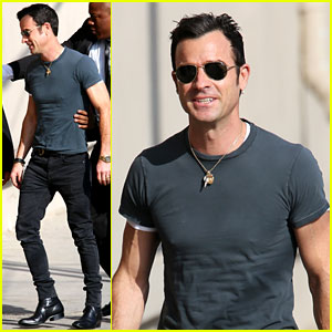 Justin Theroux Talks About His G-Rated Bachelor Party!