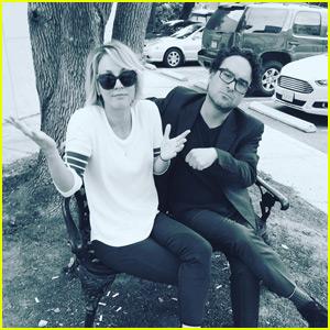 Kaley Cuoco & Johnny Galecki Shoot Down Secret Fling Rumors