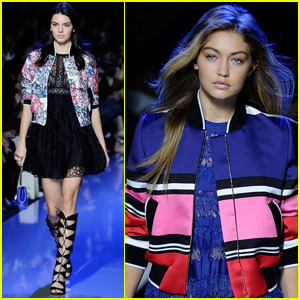 Kendall Jenner & Gigi Hadid Rock The Runway & Party With Vogue