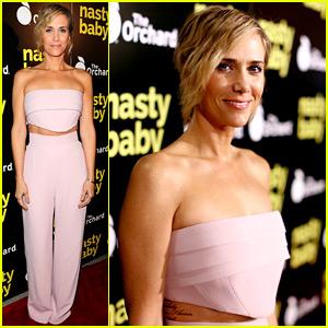 Kristen Wiig Premieres 'Nasty Baby' in Hollywood!
