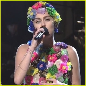 Miley Cyrus Sings About Summer Scandals in 'SNL' Monologue (Video)
