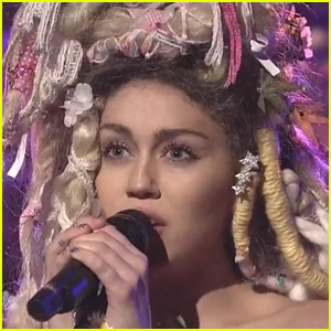 Miley Cyrus Performs 'Karen Don't Be Sad' & 'Twinkle Song' With The Flaming Lips on 'SNL' - Watch Now!