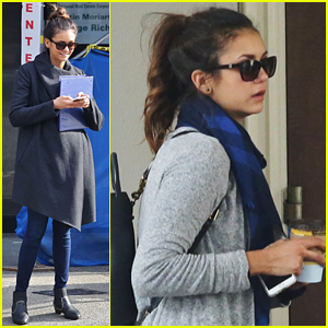 Nina Dobrev Tours Vancouver After Joining 'Arrivals' Flick