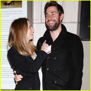 Emily Blunt & John Krasinski Couple Up At The 'Fool For Love' Opening