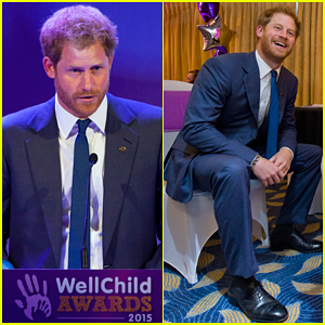 Prince Harry Supports Children Battling Serious Illnesses At Wellchild Awards 2015
