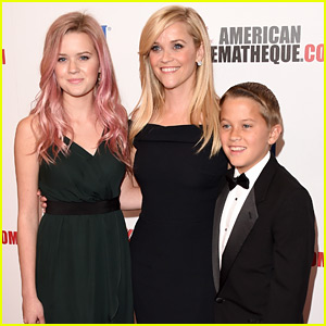 Reese Witherspoon Brings Kids Ava & Deacon to Celebrate Her American Cinematheque Award!