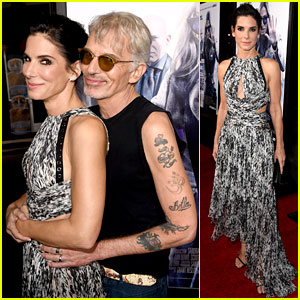 Sandra Bullock Takes Prom Style Photos with Billy Bob Thornton at 'Our Brand Is Crisis' Premiere!