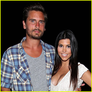 Scott Disick Shares Photo of Ex Kourtney Kardashian Baring It All