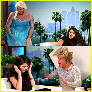 Selena Gomez Gets Scared