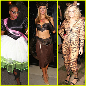 Serena Williams Is An '80's Prom Queen For Halloween!