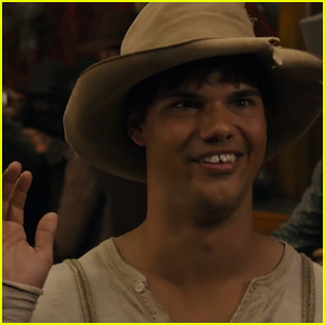 Taylor Lautner is Nearly Unrecognizable in First 'Ridiculous 6' Trailer for Netflix - Watch Now!
