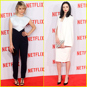 Taylor Schilling & Krysten Ritter Bring Netflix to Spain!