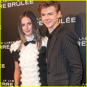 Brenton Thwaites & Girlfriend Chloe Pacey Couple Up at ...