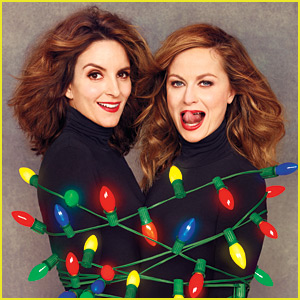 Tina Fey & Amy Poehler Celebrate Christmas in October with EW's Holiday Preview!
