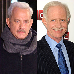 Tom Hanks Is the Spitting Image of Hero Pilot 'Sully' Sullenberger!