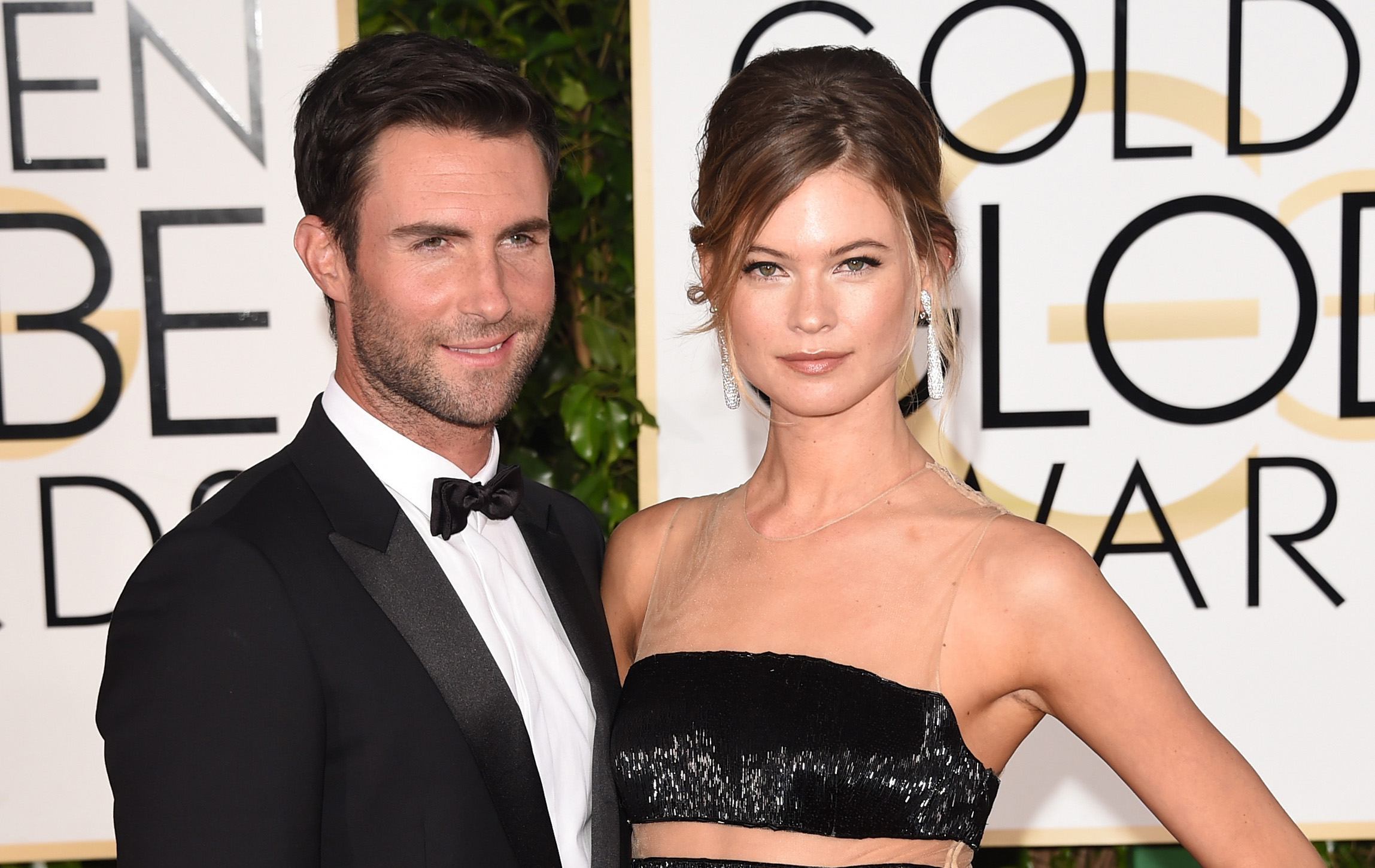 Adam Levine Surprised Behati Prinsloo With Roses After The