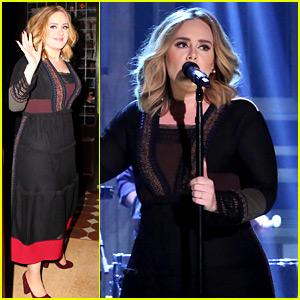 Adele Performs 'Water Under the Bridge' Live on 'Fallon' (Vi