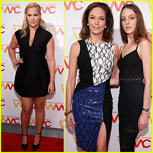 Amy Schumer & Diane Lane Bring Girl Power to the Women's Media Awards