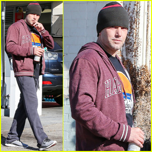 Ben Affleck Is Happy to be Filming at Home in Boston