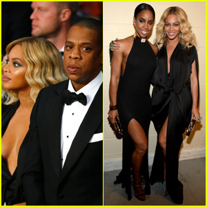 Beyonce & Jay Z Go Glam for Las Vegas Middleweight Fight