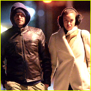 Bradley Cooper & Irina Shayk Brave the Cold for Their Date Night!