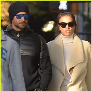 Bradley Cooper Enjoys A Lunch Date With Girlfriend Irina Shayk