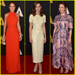 Brie Larson, Carey Mulligan, & Saoirse Ronan Stun at Governors Awards 2015!