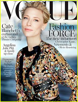 Cate Blanchett Covers 'Vogue Australia' December 2015, New 'Carol' Trailer Debuts