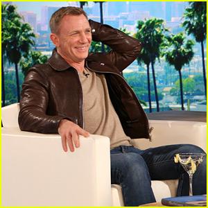 Daniel Craig Gifts Ellen DeGeneres with His James Bond Watch (Video)