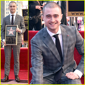 Daniel Radcliffe Honored With Star On Hollywood's Walk of Fame