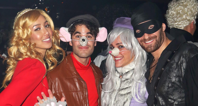 Darren Criss & Matthew Morrison Celebrate Halloween in NYC! | 2015 ...