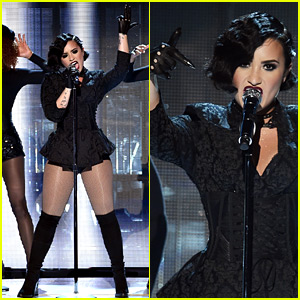 Demi Lovato's AMAs 2015 'Confident' Performance Video - Watch Now!