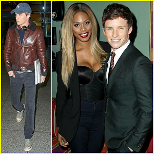 Eddie Redmayne Meets Laverne Cox At Special 'Danish Girl' Screening!