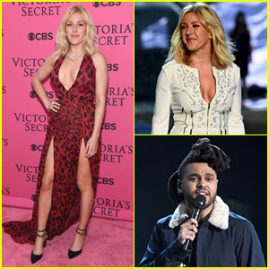 Ellie Goulding & The Weeknd Perform for Victoria's Secret!