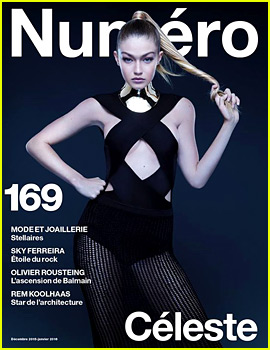 Gigi Hadid Looks Super Fierce for 'Numero' Magazine!