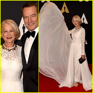 Helen Mirren Makes a Fierce Entrance at Governors Awards 2015
