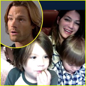 Jared Padalecki Skypes with Wife & Kids in Cute New Video