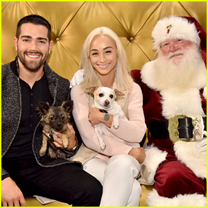 Jesse Metcalfe & Cara Santana Get Their Christmas Card Pic!