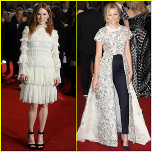 Julianne Moore & Elizabeth Banks Premiere 'The Hunger Games: Mockingjay - Part 2' in London