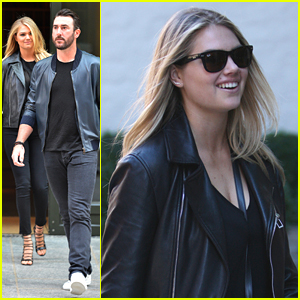 Kate Upton Bets On Horse Tepin At Breeder's Cup 2015 & Won!